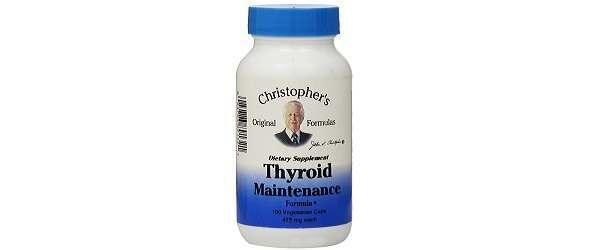 Dr. Christopher's Thyroid Maintenance Formula Review