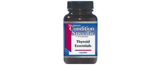 Swanson Condition Specific Formulas Thyroid Essentials Review615